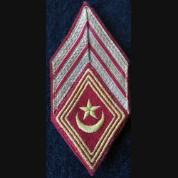 LOSANGE DE BRAS MODÈLE 45 :  Maréchal des logis chef sections administratives spécialisées (SAS) 1955