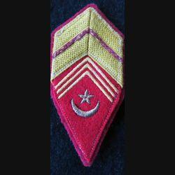 LOSANGE DE BRAS MODÈLE 45 : modèle précoce de brigadier des affaires Sahariennes