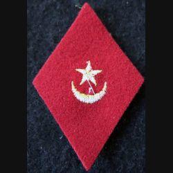 LOSANGE DE BRAS MODÈLE 45 :  modèle troupe sections administratives spécialisées (SAS) du service des affaires algériennes
