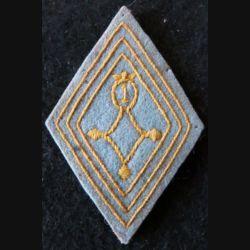 LOSANGE DE BRAS MODÈLE 45 : modèle troupe 1° compagnie saharienne à pieds