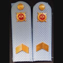 RUSSIE : Paire d'épaulette de la sécurité de police