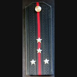URSS : épaulette de capitaine de l'infanterie navale des troupes côtières soviétiques
