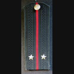 URSS : épaulette de lieutenant de l'infanterie navale ou troupes côtières soviétiques