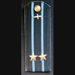 URSS : épaulette de Lieutenant Colonel de l'aéronavale soviétique