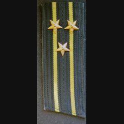 URSS : épaulette de capitaine de 1° Classe (capitaine de vaisseau) de la marine soviétique