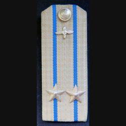 URSS : épaulette de lieutenant colonel des unités aéronavales soviétiques