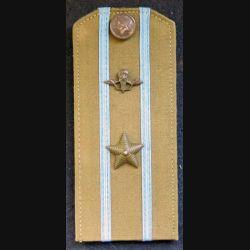 URSS : épaulette de commandant des troupes éroportées soviétiques