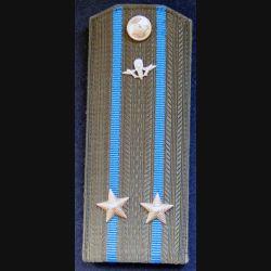 URSS : épaulette de lieutenant colonel des troupes aéroportées soviétiques