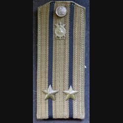 URSS : épaulette de lieutenant colonel du service constructeur soviétique