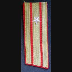 URSS : épaulette de commandant de l'armée soviétique
