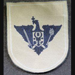 insigne tissu des forces de l'armée de terre moldave 8,5 x 7 cm