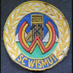 insigne tissu de club sportif de l'allemagne de l'est 8,5 cm