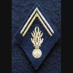 LOSANGE DE BRAS MODÈLE 45 :  modèle Gendarmerie période Algérie avant 1962