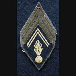 LOSANGE DE BRAS MODÈLE 45 :  Caporal auxiliaire de Gendarmerie période Algérie avant 1962