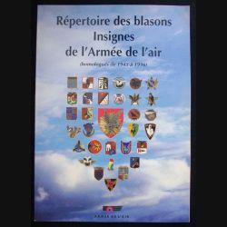 0. RÉPERTOIRE DES BLASONS INSIGNES DE L'ARMÉE DE L'AIR 1945-1996