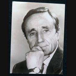 Photo du Capitaine Pierre Sergent (vers 1990) 12,8 X 17,3 cm