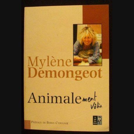 Livre animalement vôtre de Mylène Demongeot