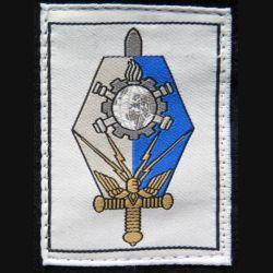 COMMF : insigne tissu du commandement militaire de la maintenance des forces
