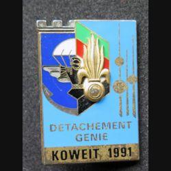 6° REG - 17° RGP : 6° Régiment étranger du génie et 17° régiment du génie para KOWEIT 1991 Fraisse
