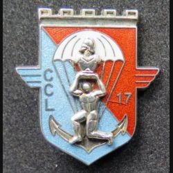 17° RGP : CCL du 17° régiment du génie parachutiste Boussemart Prestige translucide argenté