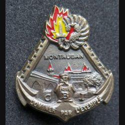 17° RGP : CBI du 17° régiment du génie parachutiste en bronze massif (Leblond)
