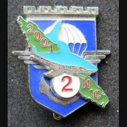 17° RGP : 2° compagnie du 17° régiment du génie parachutiste Nlle Calédonie 2001 Delsart