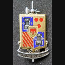 37° RI :  37° régiment d'infanterie de fabrication Drago Béranger H. 674 en émail