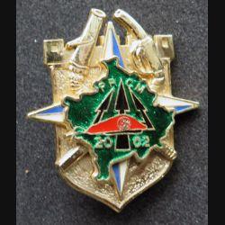17° RGP : 17° régiment du génie parachutiste KOSOVO PRCM 2002 fabrication Sheli translucide