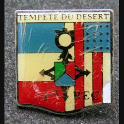 1° REC  : pin's du 1° Régiment étranger de cavalerie tempête du désert