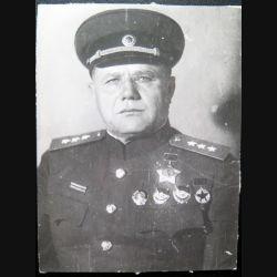 URSS : photo du Colonel Général Eremenkoi 11 x 14,5 cm
