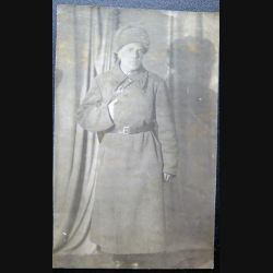 URSS : photo du Commandant (Major) de l'armée rouge 1942 9,5 x 15,5 cm