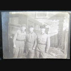 URSS : photo d'un groupe de sergents de l'armée rouge 8,7 x 12,7 cm