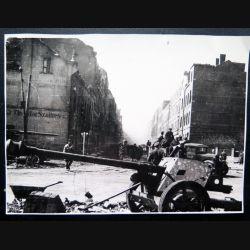 URSS : photo de l'Allemagne capitulée 18 x 13 cm