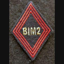 LOSANGE DE BRAS MODÈLE 45 : modèle sous officiers Bataillon d'Infanterie mécanisée N° 2 Kosovo