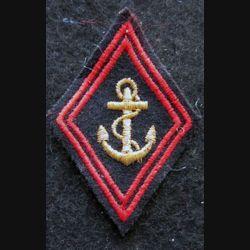 LOSANGE DE BRAS MODÈLE 45 : modèle sous officiers infanterie coloniale