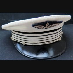 Casquette de Commandant de gendarmerie de l'Air de taille 56 avec insigne en cannetille