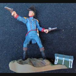 SOLDAT DE PLOMB : officier US de la cavalerie (socle en résine)