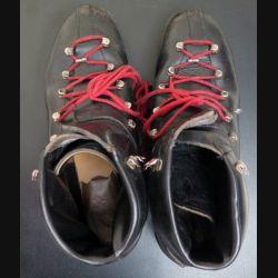 Chaussures militaire de ski à lacet Ouragan en cuir de taille 9 1/2 (taille 44) comme neuve