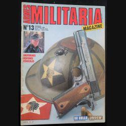 ARMES MILITARIA Magazine n° 13 de octobre 86 sur les paras de la Légion étrangère et leurs insignes