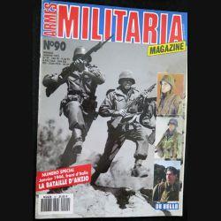 ARMES MILITARIA Magazine n° 90 de janvier 1993 sur la bataille d'Anzio