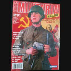 ARMES MILITARIA Magazine n° 91 de février 1993 sur les insignes des DCR