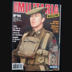 ARMES MILITARIA Magazine n° 94 de mai 1993 sur le Renault R 40