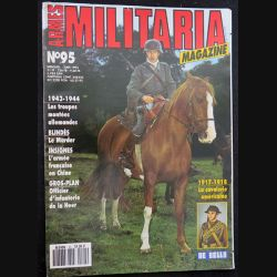 ARMES MILITARIA Magazine n° 95 de juin 1993 sur les insignes de l'armée française en Chine