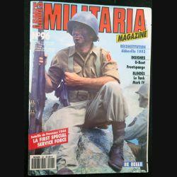 ARMES MILITARIA Magazine n° 96 de juillet 1993 sur la bataille de Provence en 1944