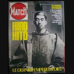 MATCH HORS SÉRIE DU 3°TRIMESTRE 1988 SUR HIRO HITO (C72)