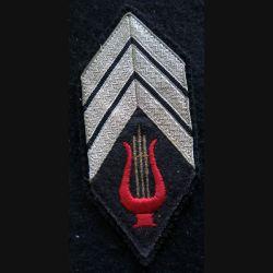LOSANGE DE BRAS MODÈLE 45 : modèle maréchal des logis chef musique régimentaire ou principale
