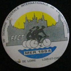 56°SEMAINE FÉDÉRALE INTERNATIONALE DE CYCLOTOURISME MER 1994