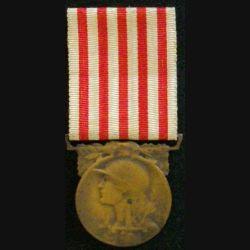 FRANCE : médaille commémorative de la Grande guerre 1914-1918 en bronze