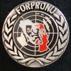 8° DIVISION D'INFANTERIE : FORPRONU 5 YOUGOSLAVIE 1992-1993