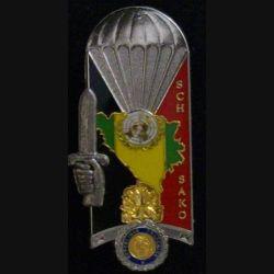 """PROMOTION ENSOA : insigne de la 190° promotion de l'école nationale des sous-officiers d'active """"sergent-chef SAKO"""" de fabrication Pichard Balme G. 4686"""